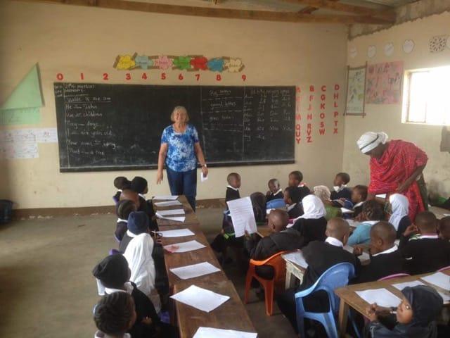 Ann Olsen Volunteer in Arusha Tanzania