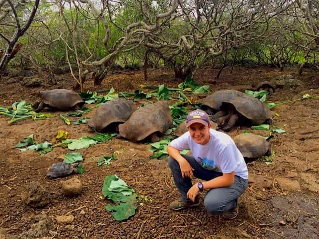Volunteer Ecuador Galapagos Island San Cristobal Review Clare Sandke Animal Conservation program