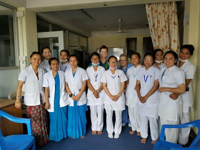 Volunteer Nepal Kathmandu Review Kathryn Cary Medical Program