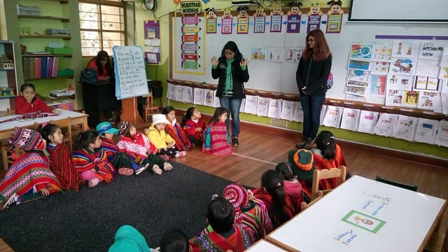 Volunteer Peru Cusco Review Claudia Parker Child Care program