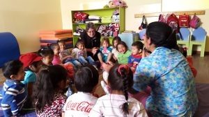 volunteer Ecuador Quito May Ann Fisher Day CAre