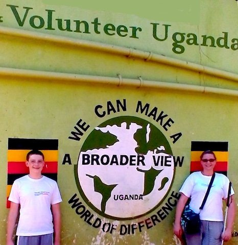 Volunteer Uganda Bulenga Review Tammie/Ethan Ruzic Orphanage program