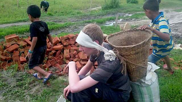 volunteer Nepal Kathmandu Charles Knotts