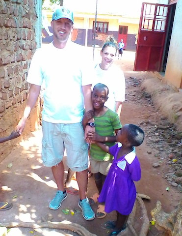volunteer Uganda Bulenga orphanage