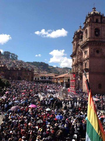 Volunteer Peru Cusco Galen Persico