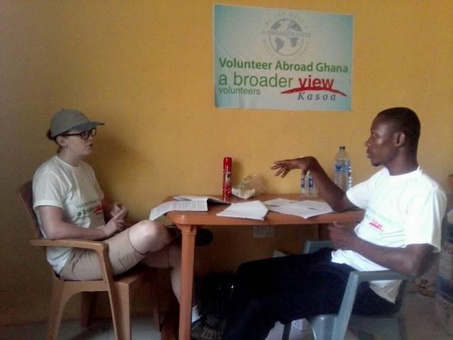 Volunteer-ghana-kasoa