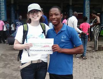 Volunteer Ghana Kasoa Review Alexine Buchanan Medical program