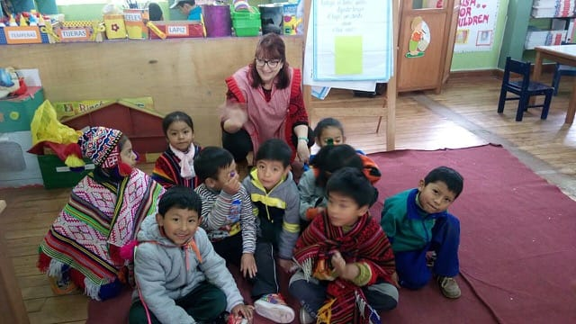 Volunteer Peru Cusco Review Isabelle Parker Child care program