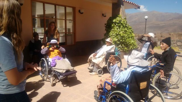 Volunteer Abroad Peru Cusco Graziella Cannarsa Pre Medical Program