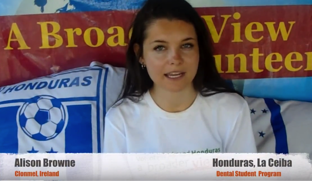 Volunteer HONDURAS La Ceiba Review Alison Browne Dentist Program