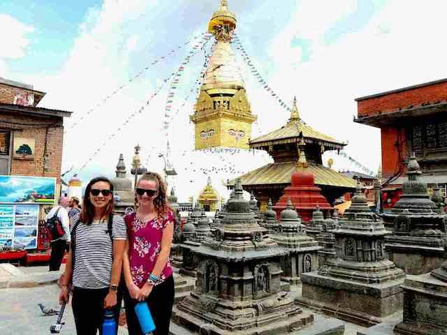 Volunteer nepal kathmandu Main Square