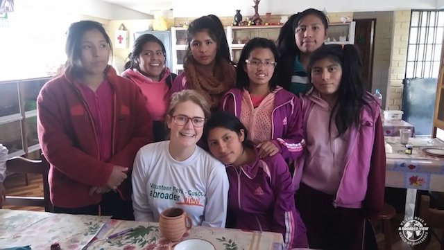Volunteer Peru Cusco Review Megan Lacombe Child Care Program