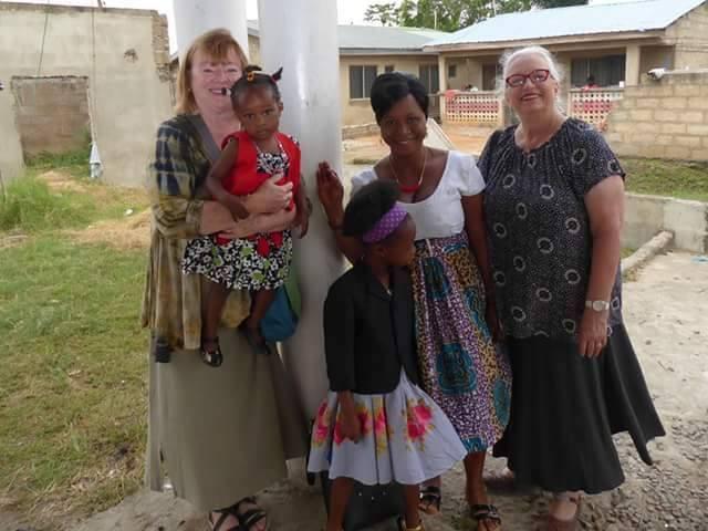 Local friends Ghana