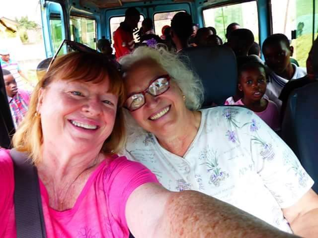 Bus transportation Volunteer Ghana