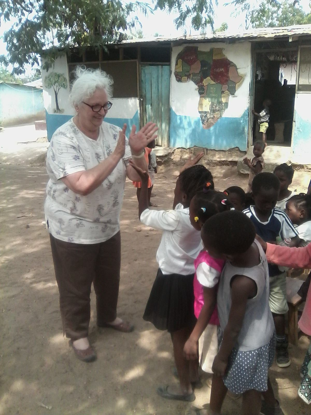 Volunteer in Ghana Kasoa Review Theresa McGlinchey Refugee Camp