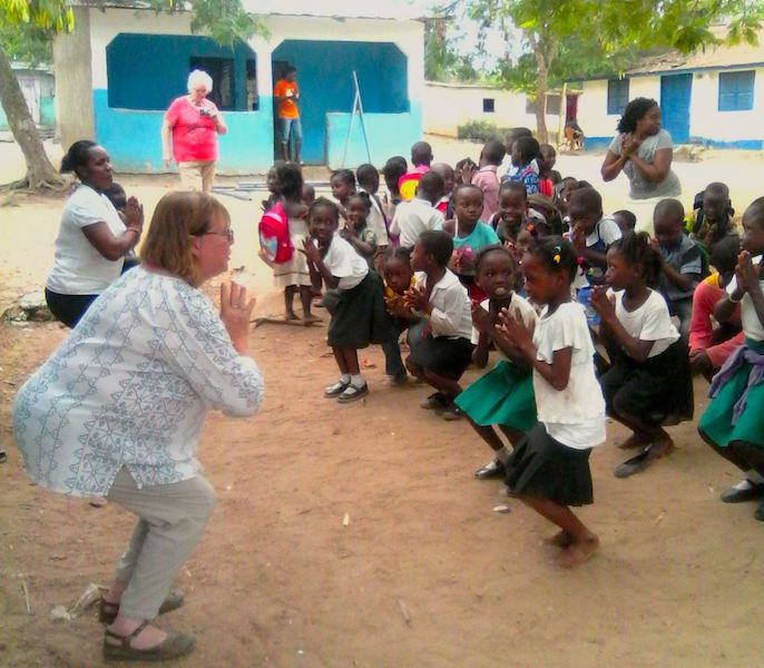 Yoga Lessons Volunteer Ghana