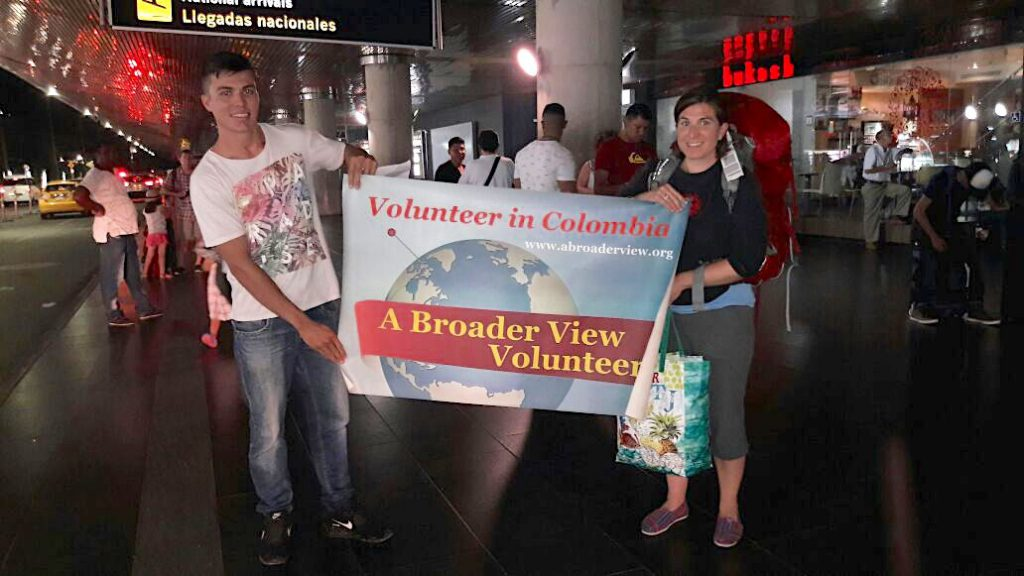 volunteer Colombia