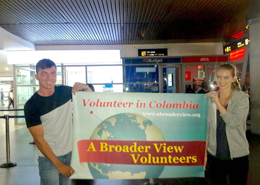 Volunteer Colombia 1