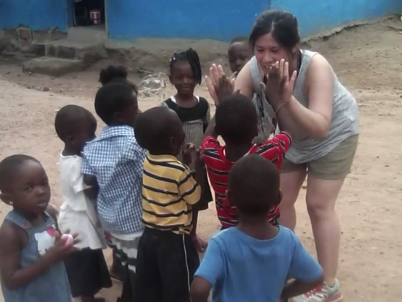Volunteer in Ghana Kasoa Review Collen Trihn at the Orphanage