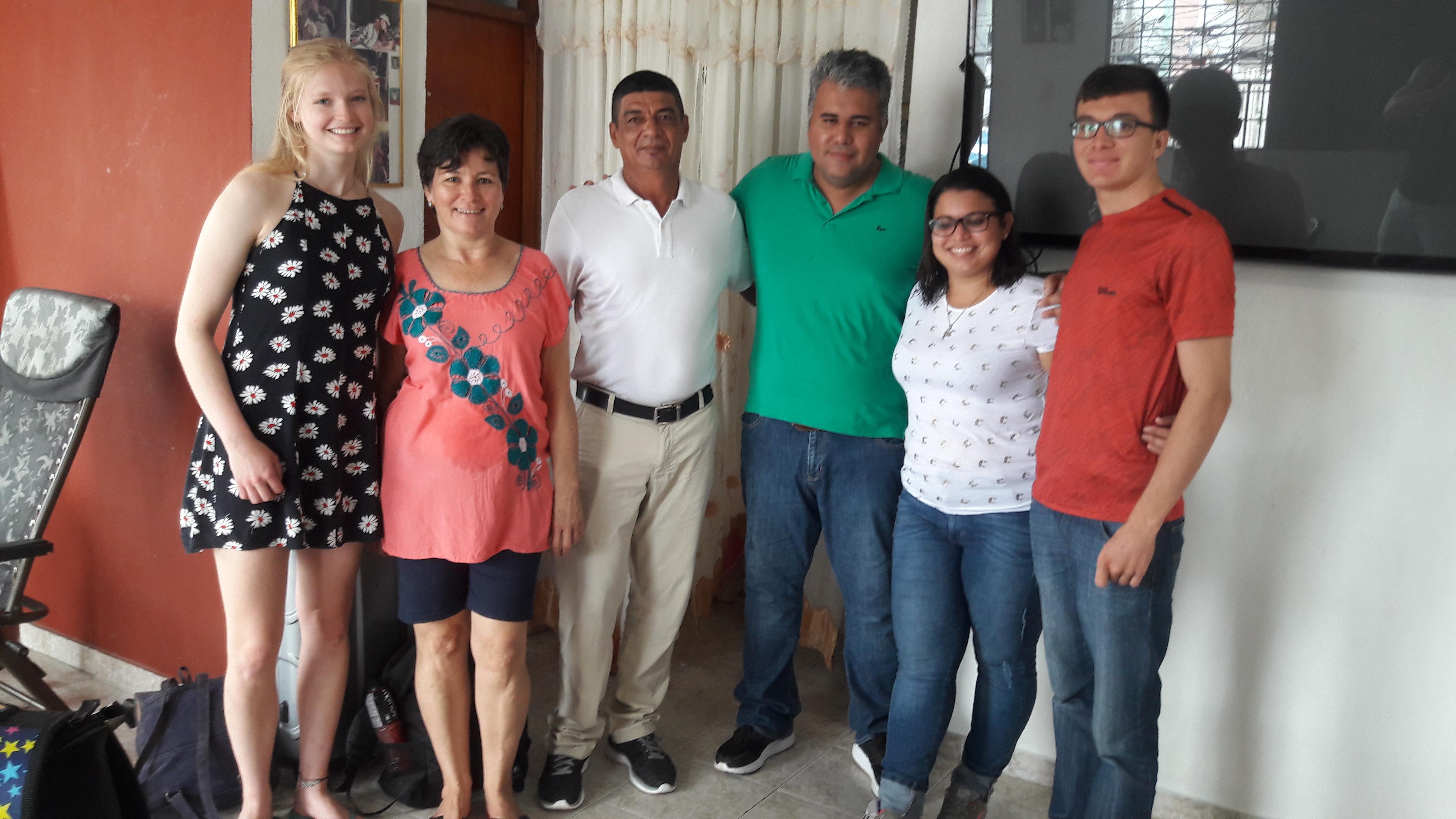 Cartagena Host Family
