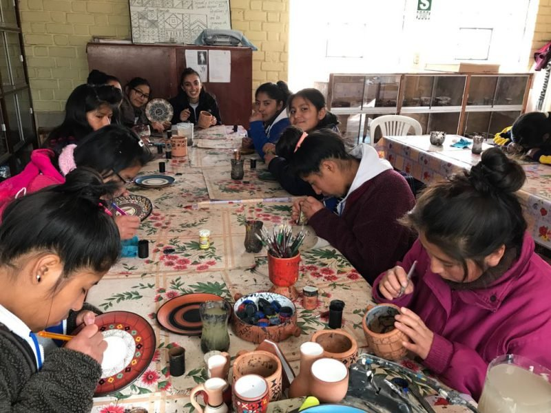 Ceramic lessons Orphanage