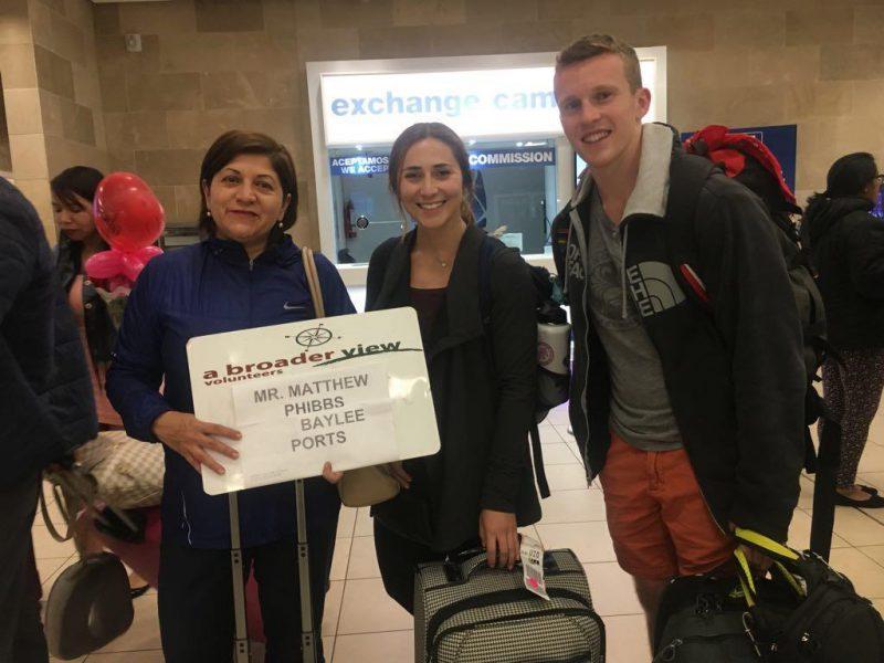 Volunteer Ecuador arrival