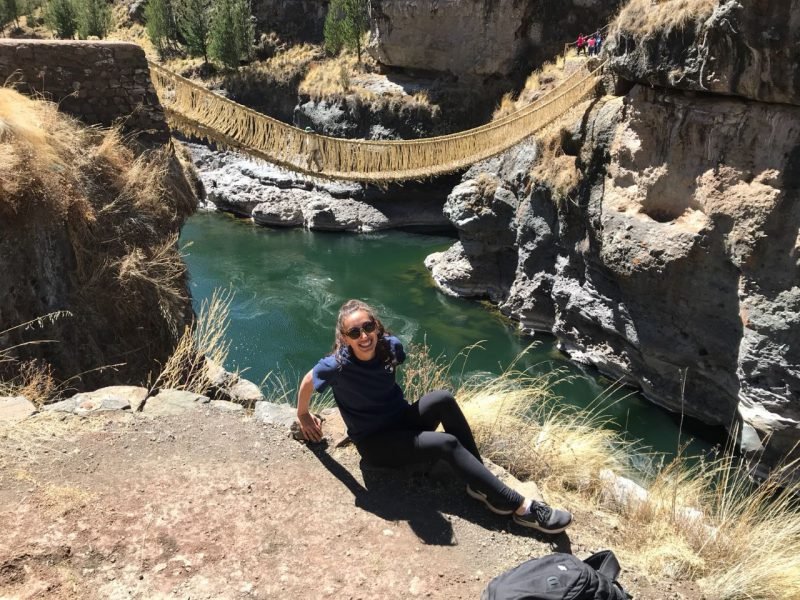 Oldest Inca Bridge