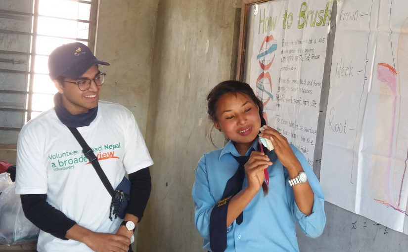Volunteer Review Nepal Kathmandu Dental Program Saion Saha